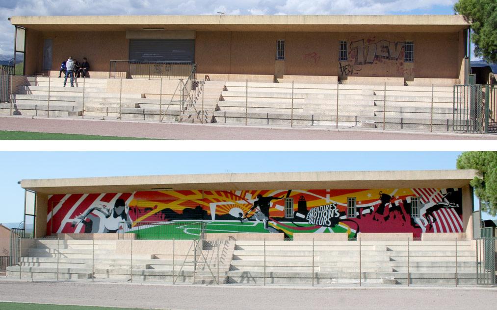 Fresque participative Var PACA