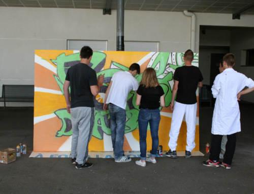 Atelier Street Art, Lycée Polyvalent du Val d'Argens, Le Muy