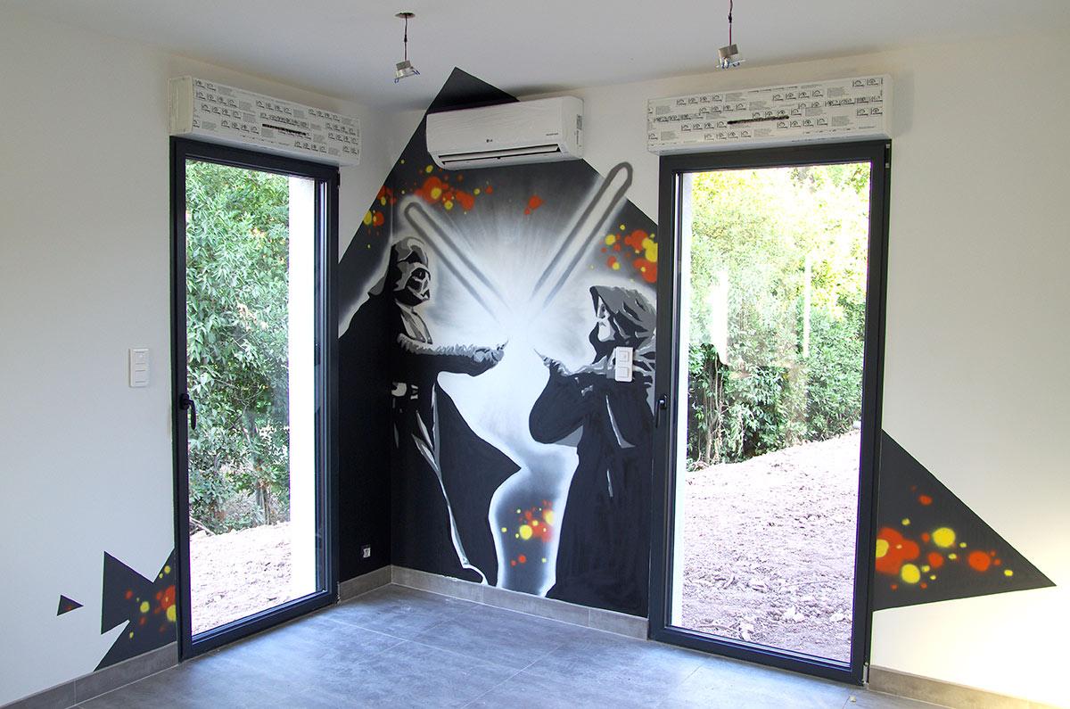 #41648A Peinture Chambre Star Wars ~ Idées De Décoration Et De  6325 decoration maison noel star wars 1200x795 px @ aertt.com