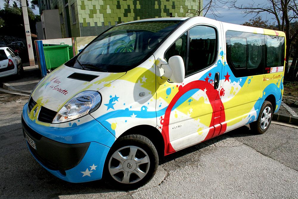 Personnalisation de véhicule graffiti Toulon
