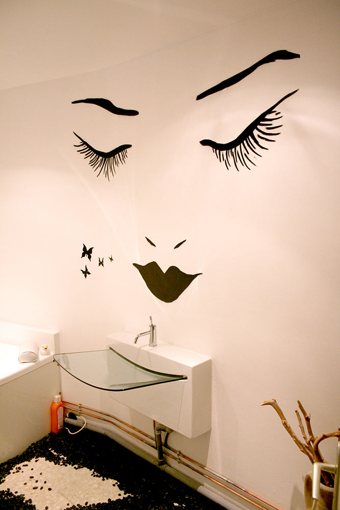 Fresque salle de bain Toulon