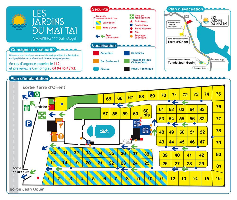 Plan technique réglementaire d'évacuation Toulon