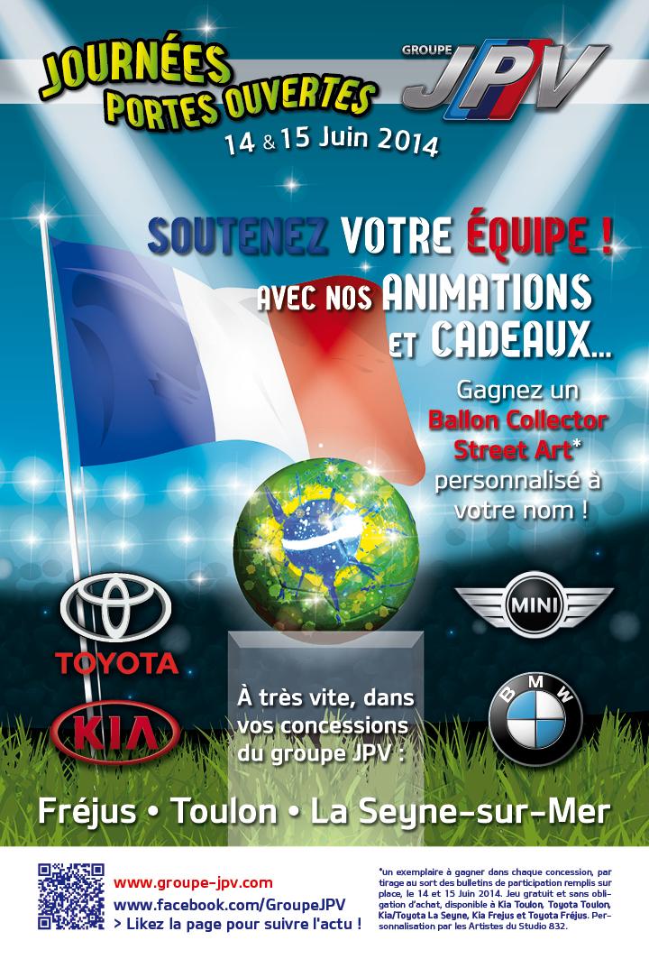 Conception d'évènement & communication visuelle concessionnaire automobile Toulon Var