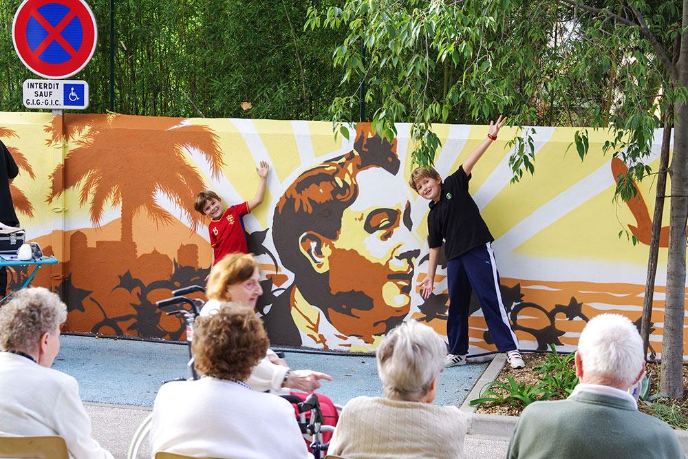 Fresque participative Toulon