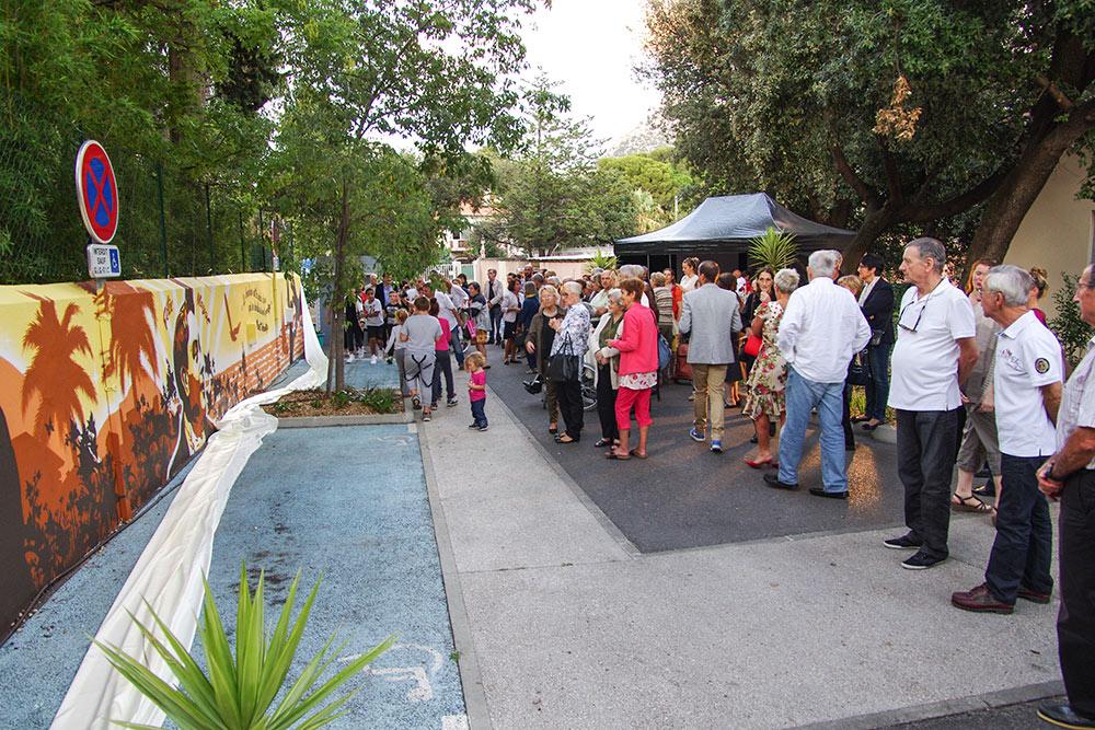 Fresque participative Toulon Var La Garde 83