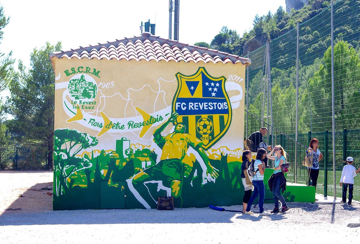 Fresques géantes communicantes Aix en Provence