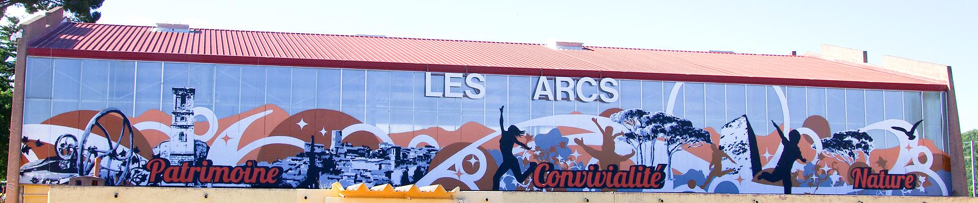 Fresques géantes communicantes Var
