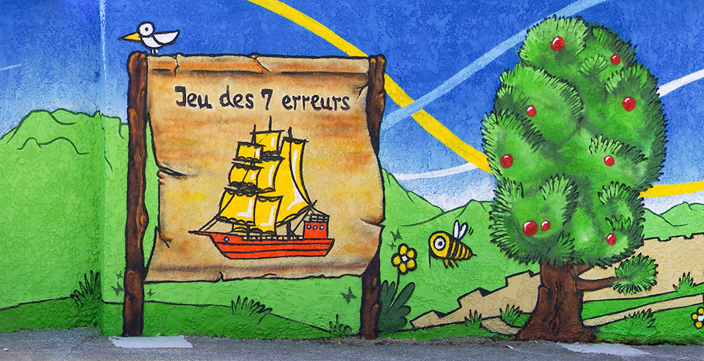 Fresque école maternelle Var 83