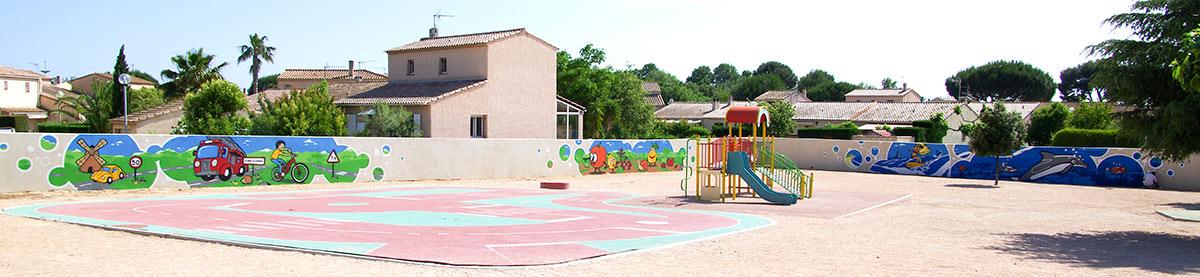 Fresques citoyennes école maternelle La Londe Les maures VAR 83