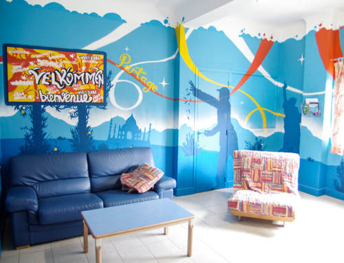 Atelier Street Art, Foyer d'accueil jeunesse