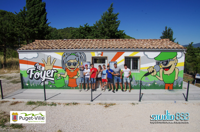 Atelier Street Art, Foyer d'accueil jeunesse - STUDIO 832 ...