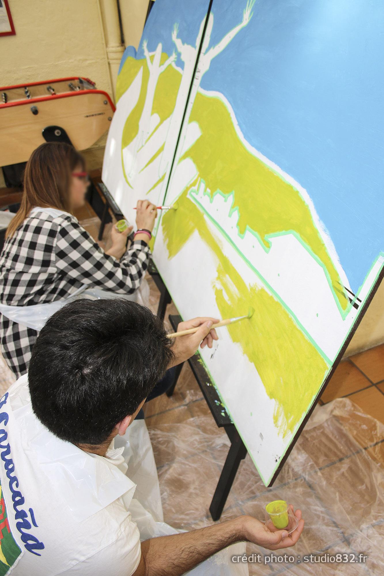 Atelier Street Art - peinture à Toulon