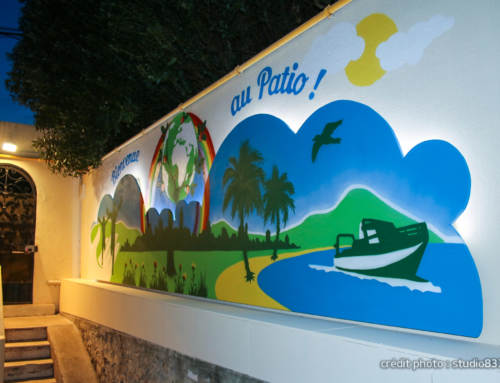 Fresque à Toulon, Atelier Street Art, Foyer d'accueil, Var